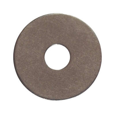 Hillman  Stainless Steel  1/2 in. Fender Washer  100 pk