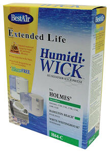 Best Air  Humidifier Wick  1 pk For Fits for Bionaire model BCM1745 BWF-64
