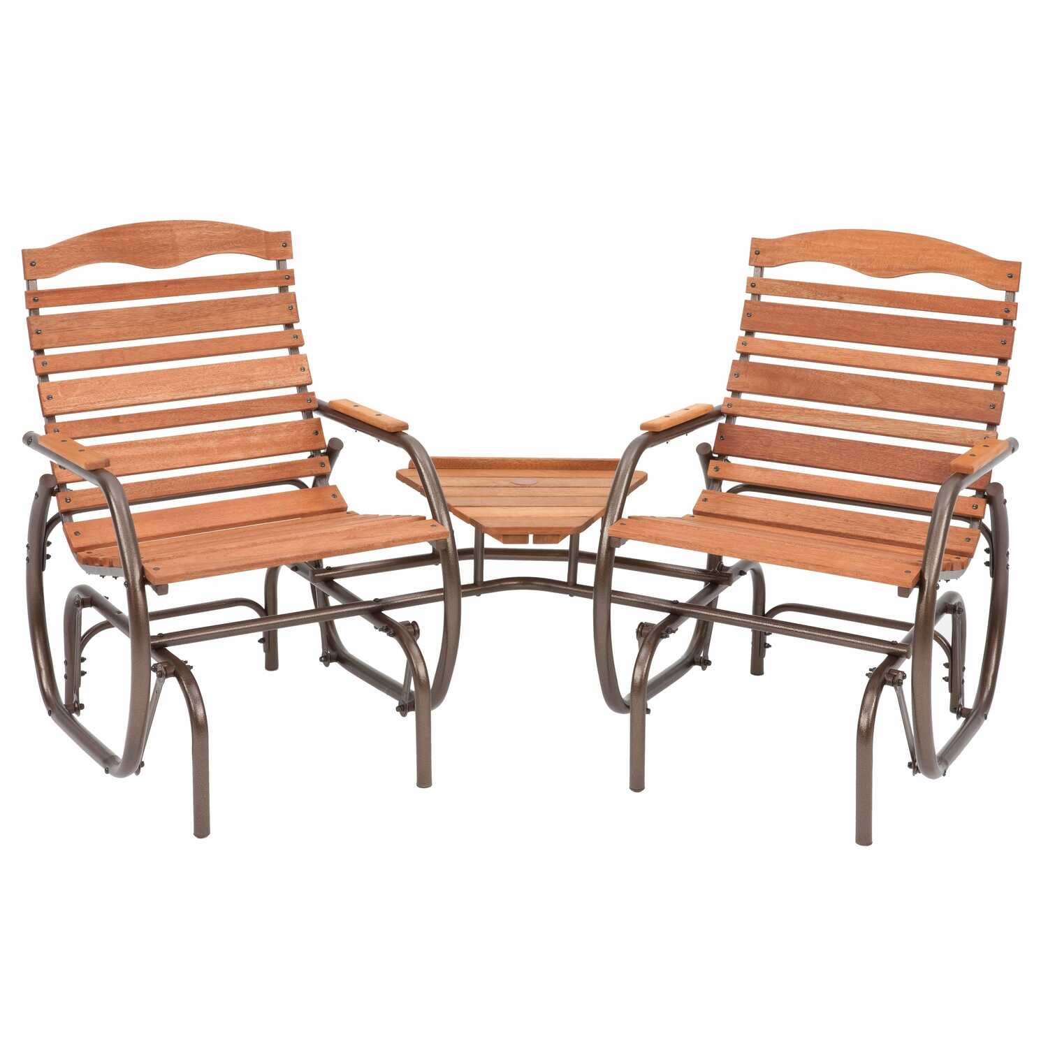 Jack Post  Country Garden  Steel  Glider Tete-a-Tete