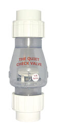 Magic Plastics  1-1/2 in. Dia. Plastic  Quiet  Check Valve