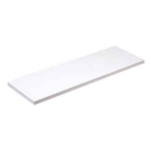 Knape & Vogt  8 in. H x 8 in. W x 24 in. D White  Melatex Laminate/Particle Board  Shelf