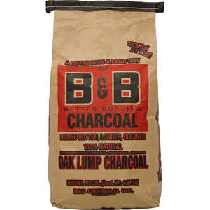 B&B Charcoal  Oak Hardwood  Lump Charcoal  10 lb.