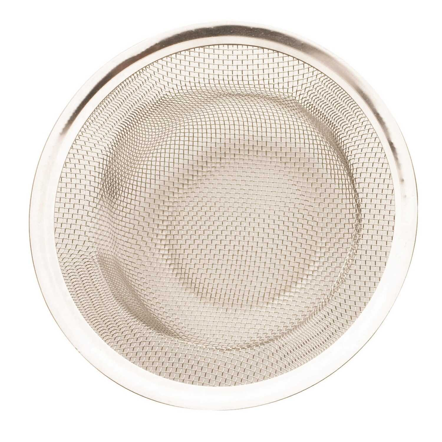 Plumb Pak  2-1/2 in. Dia. Natural  Strainer Basket