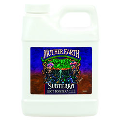 Mother Earth  Subterra Root Booster  Hydroponic Plant Supplement  1 pt.