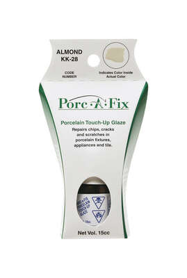 Porc-A-Fix Porcelain Almond Touch-Up Glaze 15 cc