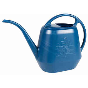 Bloem  Aqua Rite  Blue  56 oz. Plastic  Watering Can
