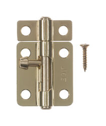 Ace  2.5 in. L Brass-Plated  Steel  Barrel Bolt  1 pk