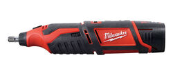Milwaukee  M12  1/4 and 1/8 in. Cordless  Rotary Tool  Kit  32000 rpm
