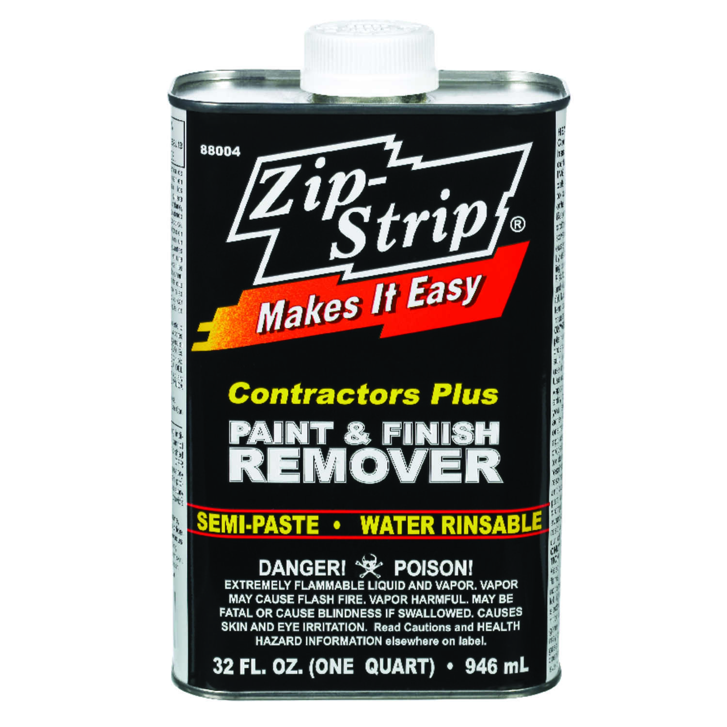 Zip-Strip  Contractor Plus Paint & Finish  Professional Strength Paint Remover  32 oz.