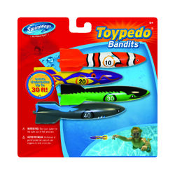 Swimways  Assorted  Plastic  Rockets  Dive Sticks
