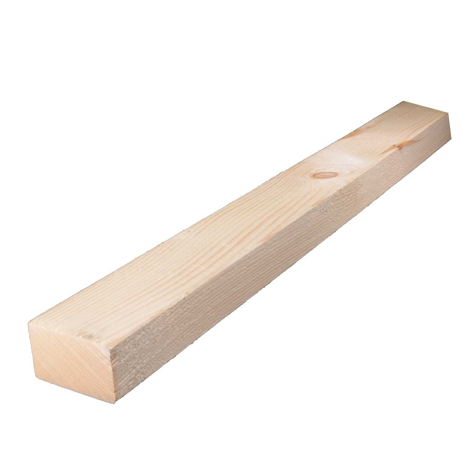 Alexandria Moulding  3 in. W x 8 ft. L x 2 in.  Wood  Lumber