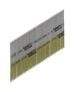 Senco  34  15 Ga. Smooth Shank  Angled Strip  Finish Nails  2-1/2 in. L x 0.07 in. Dia. 3,000 box