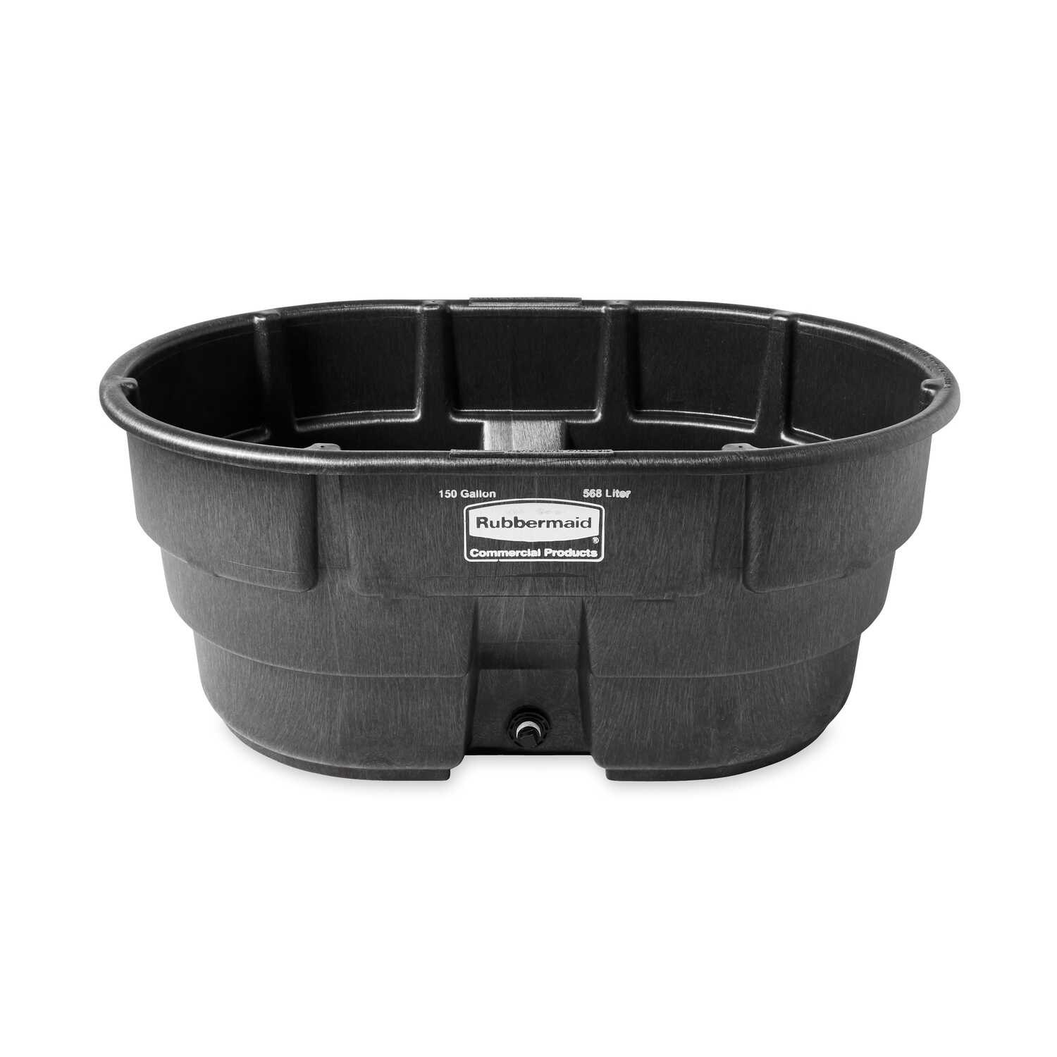 Rubbermaid Commercial 150 Gal Stock Tank For Livestock