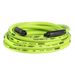 Flexzilla  25 ft. L x 3/8 in. Dia. Hybrid Polymer  Air Hose  300 psi Green