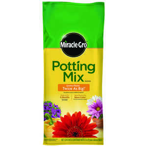 Miracle-Gro  Potting Mix  2 cu. ft.