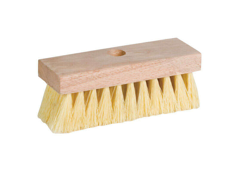 DQB  7 in. W Wood  Roof Brush