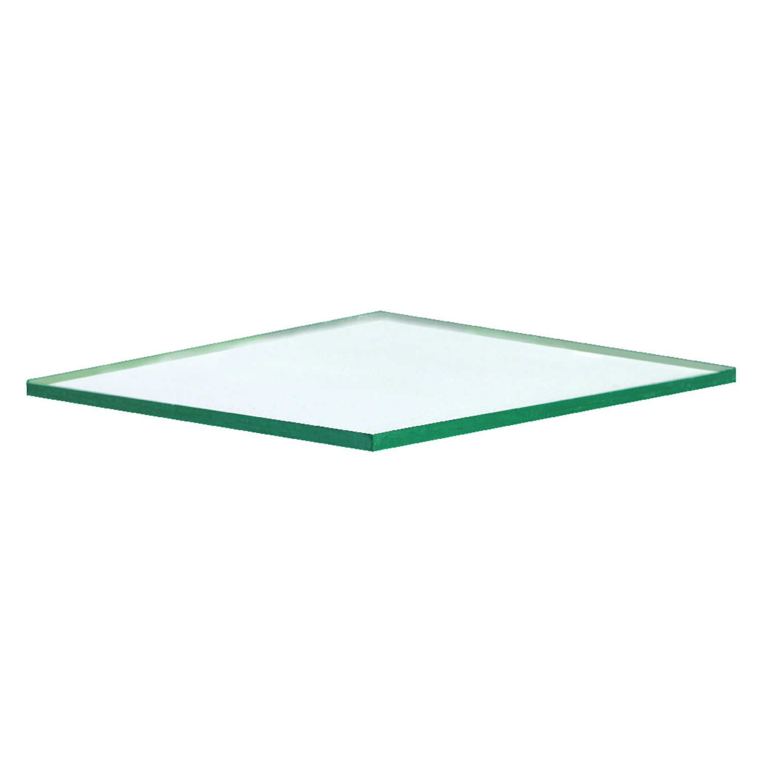 Aetna Glass  Clear  Single  Float Glass  52 in. W x 18 in. L x 2.5 mm