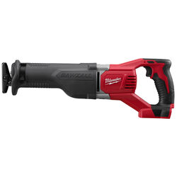 Milwaukee  M18 SAWZALL  1-1/8 in. Cordless  Reciprocating Saw  18 volt 3000 spm