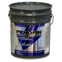 Penofin  Blue  Semi-Transparent  Western Red Cedar  Oil-Based  Wood Stain  5 gal.