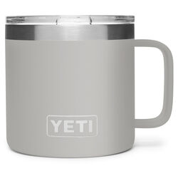 YETI Rambler 14 oz. Granite Gray BPA Free Vacuum Insulated Mug
