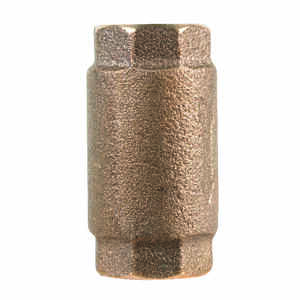 Campbell  3/4 in. 3/4 in. FNPT  Red Brass  Spring  Check Valve