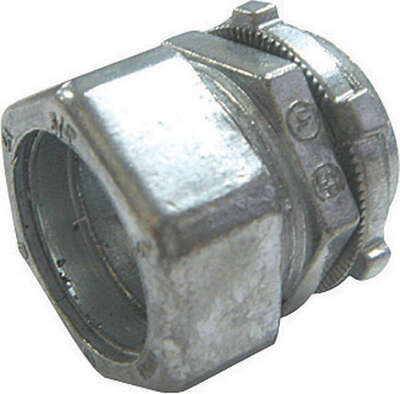Sigma Electric ProConnex 1-1/4 in. Dia. Die-Cast Zinc Compression Connector For EMT 1 pk