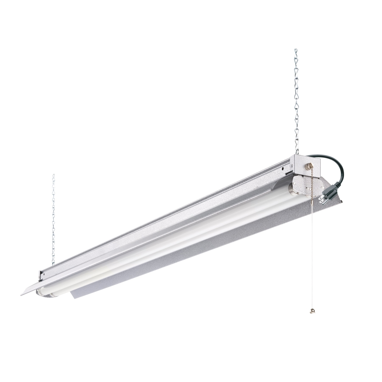Lithonia Lighting 48 In. 64 Watts Shop Light Fluorescent