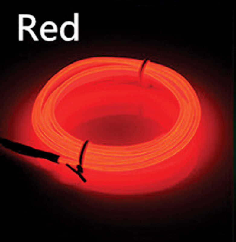 Celebrations  Neon Rope  Light Set  Red  Plastic  1 pk