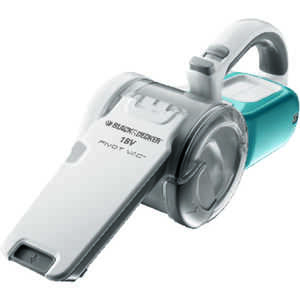 Black and Decker  Pivot Vac  Bagless  Wide Area Vacuum  Multi-Stage  Blue