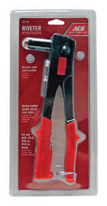 Ace  Steel  Rivet Tool  Red  1 pc.