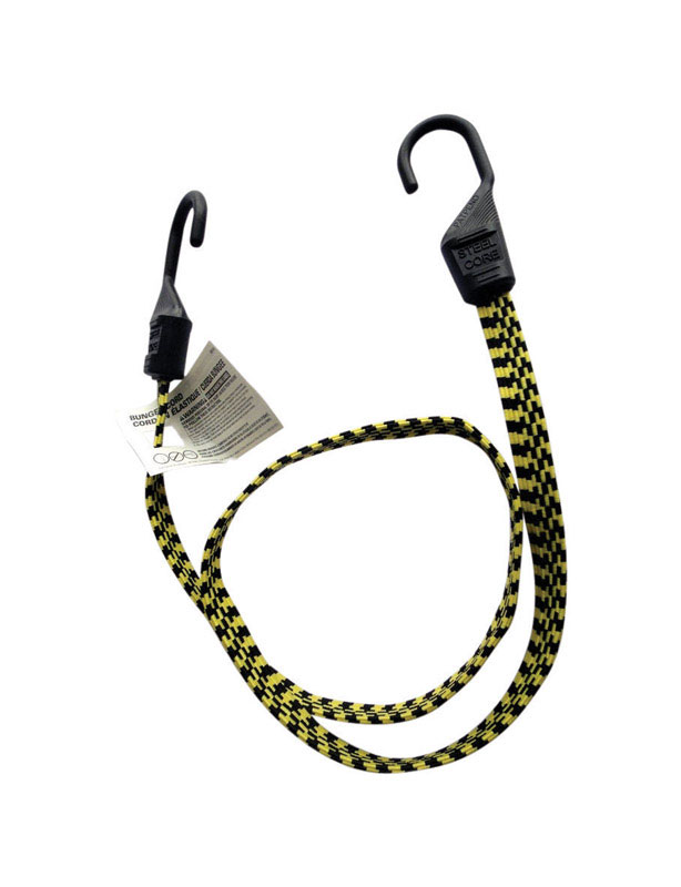 Keeper  Ultra  Multicolored  Bungee Cord  48 in. 0.14 in. 1 pk