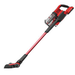 Craftsman  Bagless  Cordless  Stick Vacuum  2 amps Multi-Stage  Red