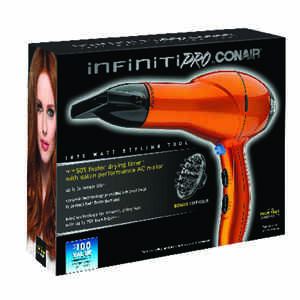 Conair  Infiniti PRO  1875 watts Hair Dryer