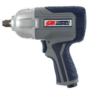 Campbell Hausfeld  .5 in. drive Air Impact Wrench  90 psi 750 ft./lbs. 8500 rpm
