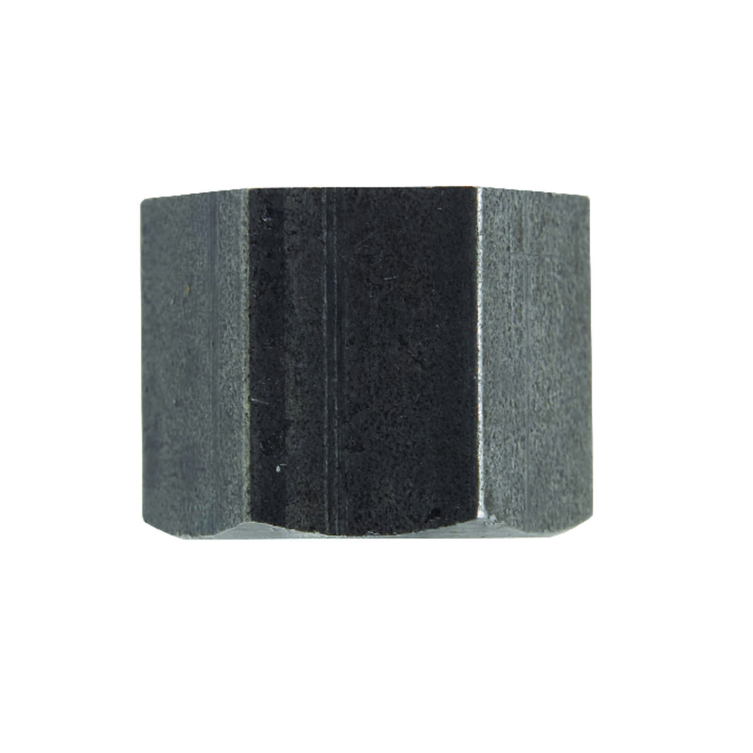 Billco  1/4 in. FPT  Black  Steel  Hex Pipe Cap