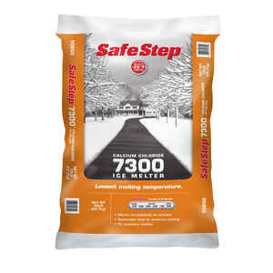 Safe Step  7300  Calcium Chloride  Ice Melt  50 lb. Pellet