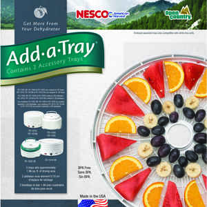 Nesco  2  White  White  2  Food Dehydrator Tray