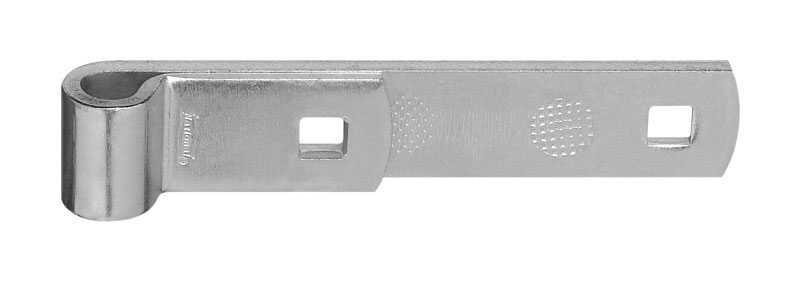 National Hardware  6 in. L Zinc-Plated  Steel  Hinge Strap  1 pk