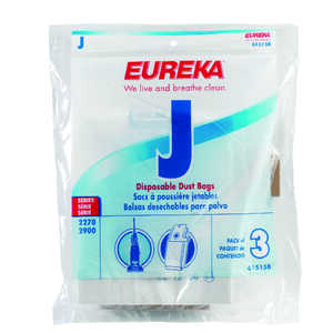 Eureka  Vacuum Bag  For Style J for Eureka upright 2270 and 2271 series, model 2901A, Ace No. 122879