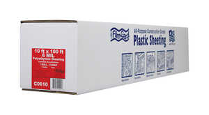 Berry Plastics  Film-Gard  Plastic Sheeting  6 mil  x 10 ft. W x 100 ft. L Polyethylene  Clear