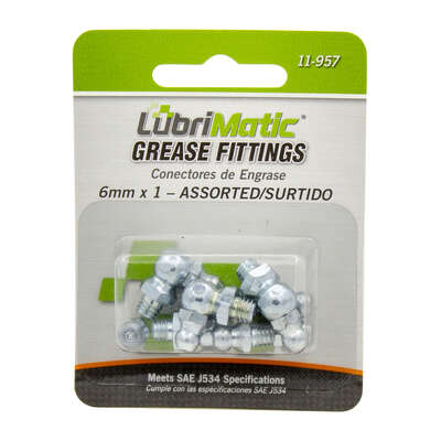 Lubrimatic 45 deg. Grease Fittings 8 pk