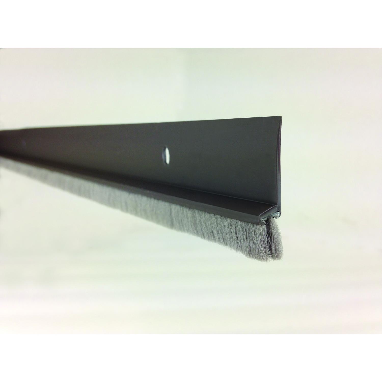 Superbe M D Building Products Brown Vinyl Door Sweep For Door Bottom 3 Ft. L X 1