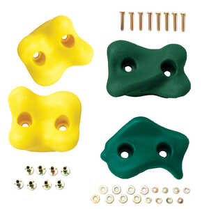 Swing-N-Slide  Plastic  Climbing Rocks Kit