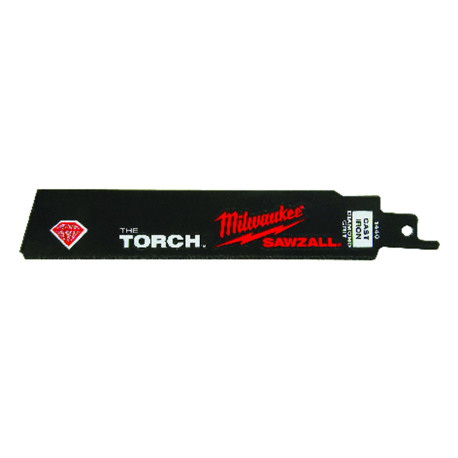 Milwaukee The Torch 6 in. Diamond Grit Reciprocating Saw Blade 1 pk