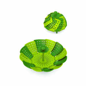 Joseph Joseph  6 in. W x 6 in. L Green  Vegetable Steamer