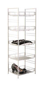 Grayline  White  Steel  Multi Rack Shelving Unit