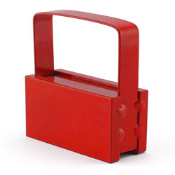 Master Magnetics  2 in. Ceramic  Handle Magnet  50 lb. pull 3.4 MGOe Red  1 pc.