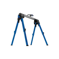 Kreg  7.63 in. H x 9.38 in. W x 33.5 in. D Adjustable Track Horse  1100 lb. capacity Blue  1 pc.