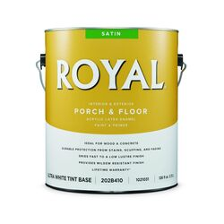 Royal  Satin  Ultra White Base  Porch & Floor Paint  1 gal.