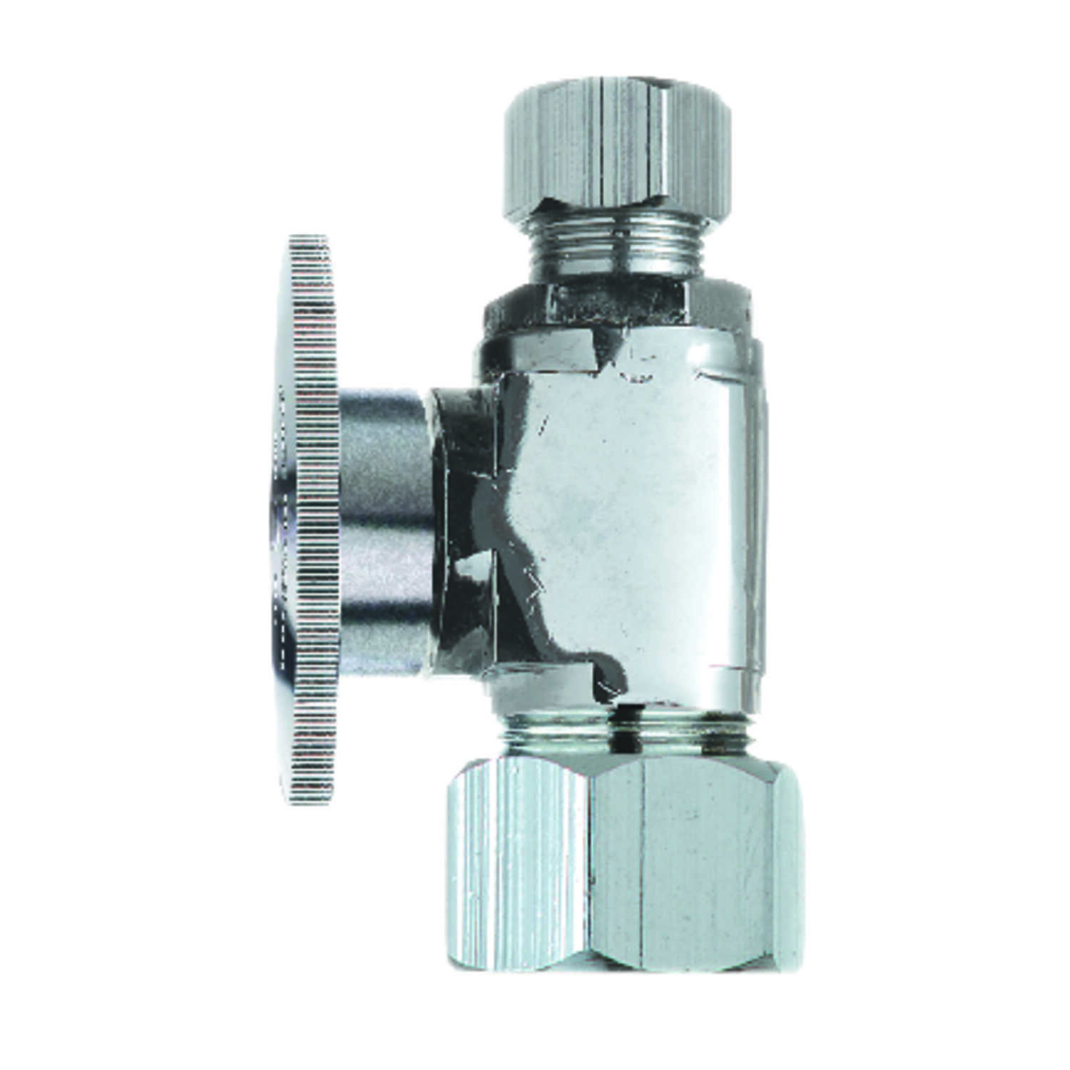 Ace  5/8  FPT   x 3/8   Compression  Brass  Shut-Off Valve